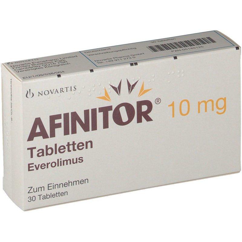 Thuốc Afinitor