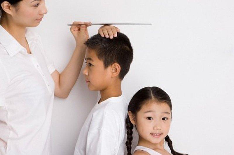 chậm tăng trưởng ở trẻ em