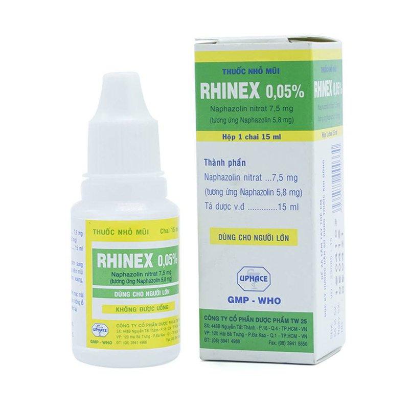 Rửa mắt và mũi cho bé 3 tháng tuổi bằng thuốc Rhinex có ảnh hưởng đến mắt của trẻ không?