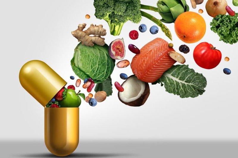 Uống vitamin E với tinh dầu hoa anh thảo