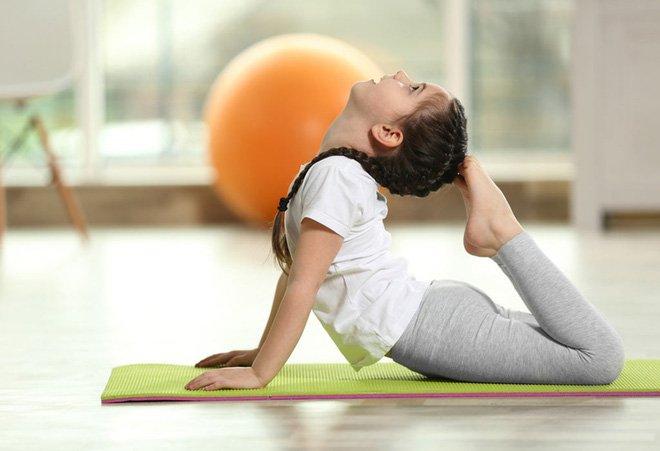 yoga trẻ nhỏ