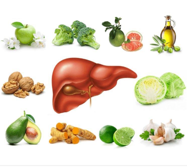Thực phẩm tốt cho gan 1