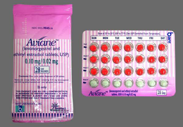 Thuốc Aviane