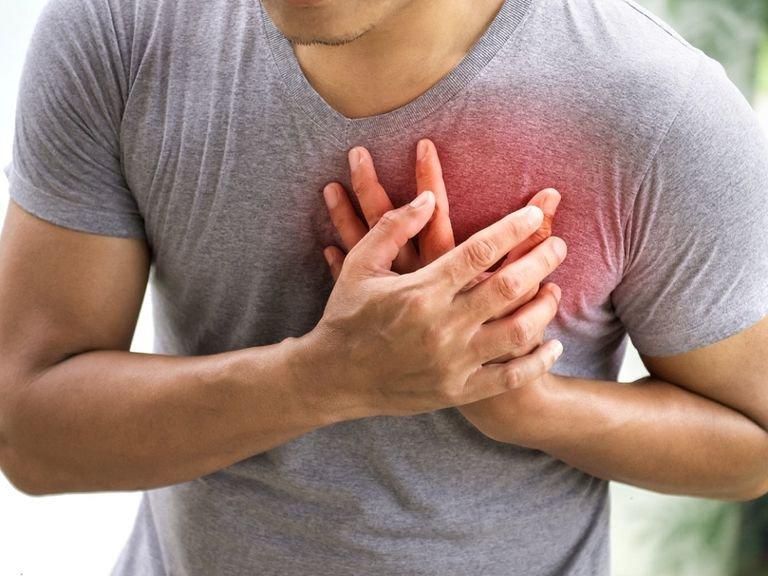 Đau ngực đau tim 1