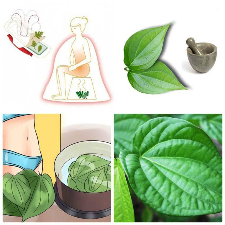 Viêm phụ khoa có nấm khi mang thai 17 tuần có dùng nước lá trầu không được không?