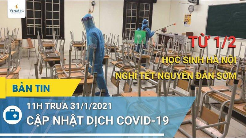 Cập nhật dịch Covid - 19: