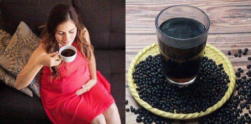 Phụ nữ mang thai uống nhiều nước đậu đen có tốt không?