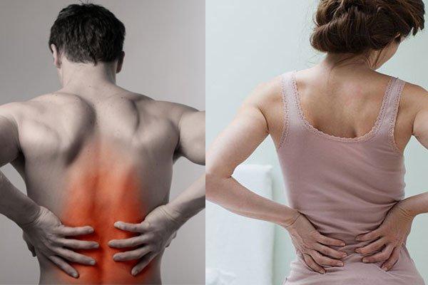 đau thắt lưng do nhồi máu thận cấp tính