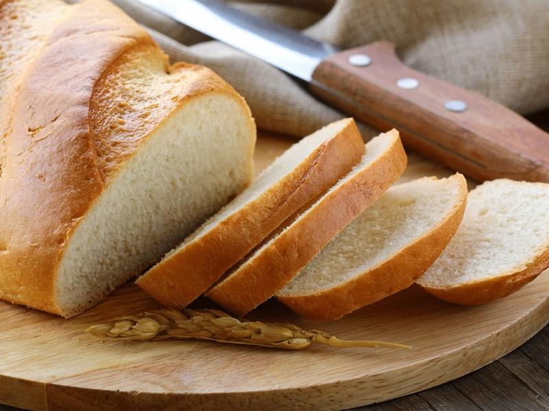 bánh mì trắng làm bạn béo bụng