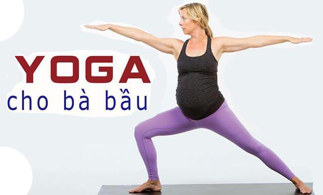 Bà bầu có nên tập yoga