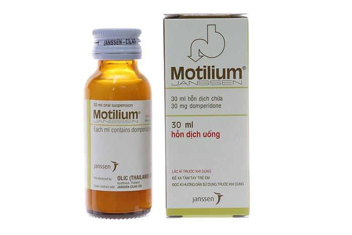 Bé hơn 1 tuổi ho kéo dài sử dụng Motilium được không?