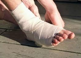 Đứt gân chân