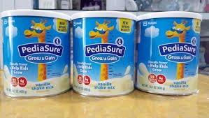 Bé hơn 1 tuổi dùng sữa tươi thay thế Pediasure được không?