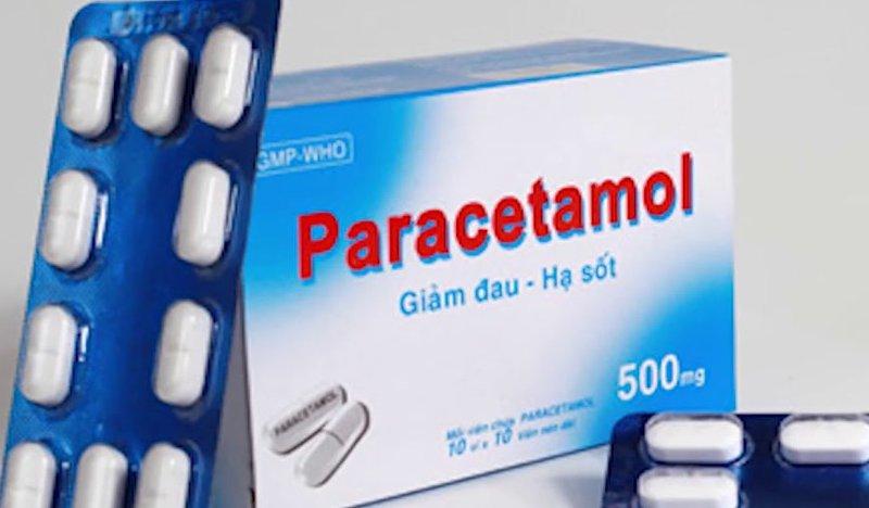 Tương tác thuốc paracetamol