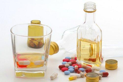 Tương tác giữa thuốc và rượu