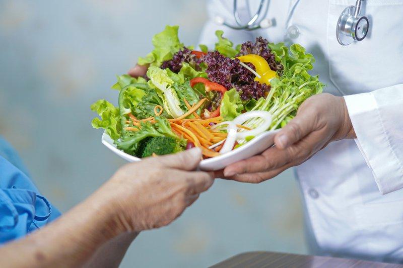 Chế độ dinh dưỡng cho người thiếu kali và vitamin D