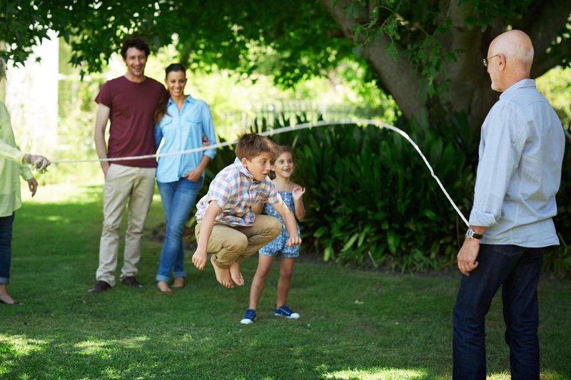 Tập thể dục cả gia đình