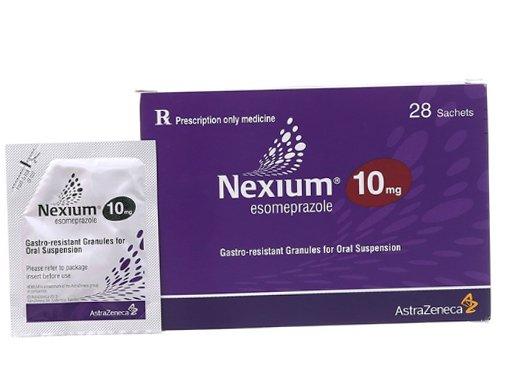 Trẻ 3 tuổi bị trào ngược dạ dày dùng thuốc Nexium có được không?