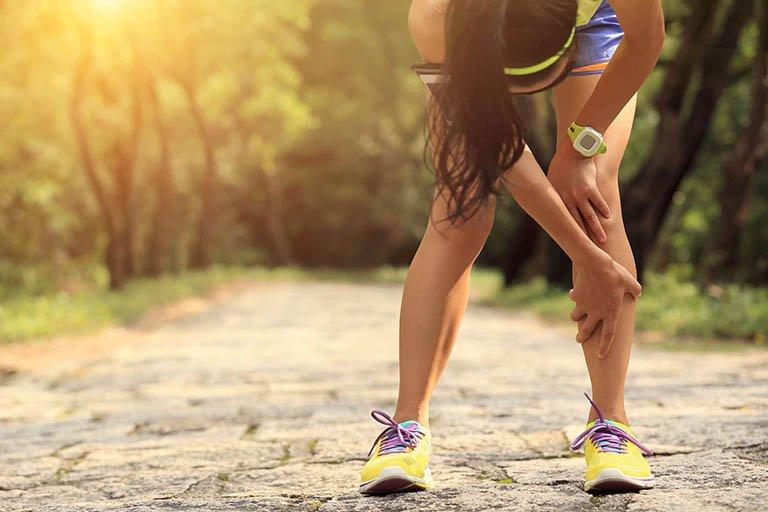 Chạy bộ đau khớp gối
