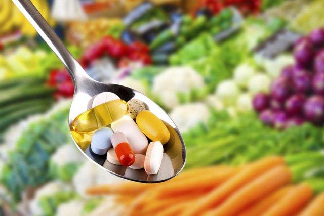 Cách bổ sung vitamin