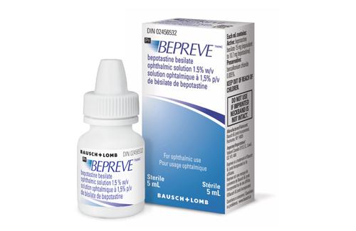 Thuốc Bepotastine