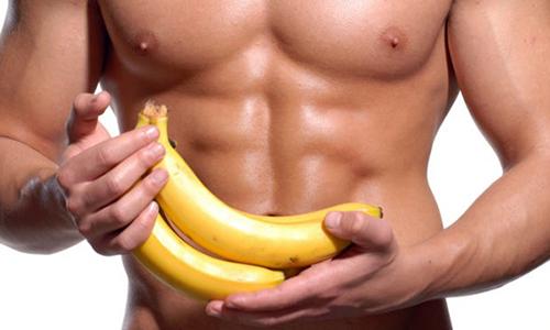 Ăn chuối tăng cơ, đúng hay không đúng?