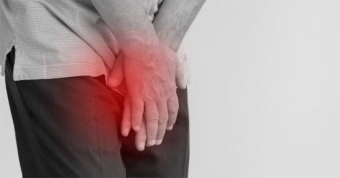 Hạch vùng bẹn sưng đau khi điều trị zona