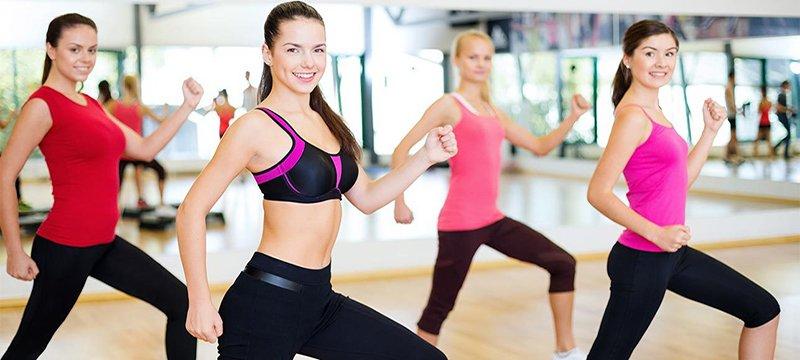 tập aerobic sau sinh