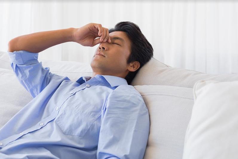 Căng thẳng mệt mỏi do nhức đầu