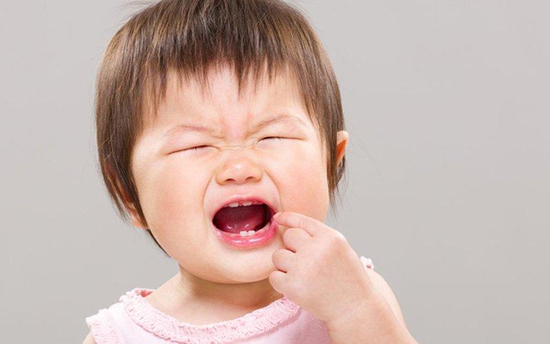 giảm đau khi mọc răng