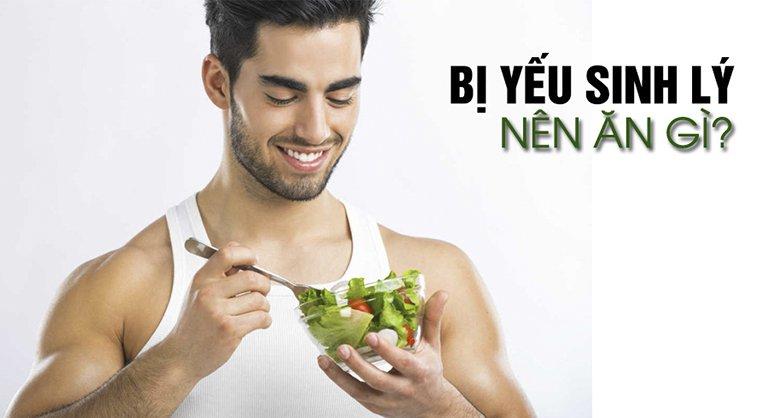 thực phẩm tốt cho nam yếu sinh lý