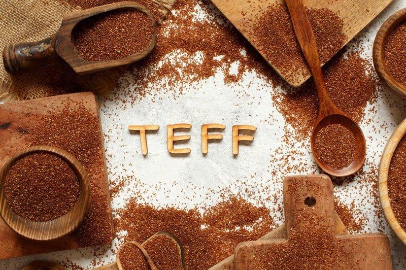 Bột hạt Teff và công dụng
