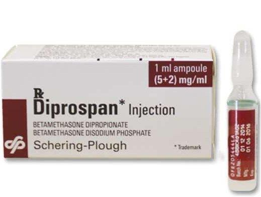 Diprospan có phải thuốc trưởng thành phổi không?