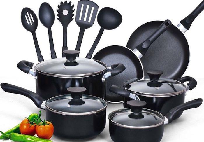 thành phần chống dính trong dụng cụ nấu ăn