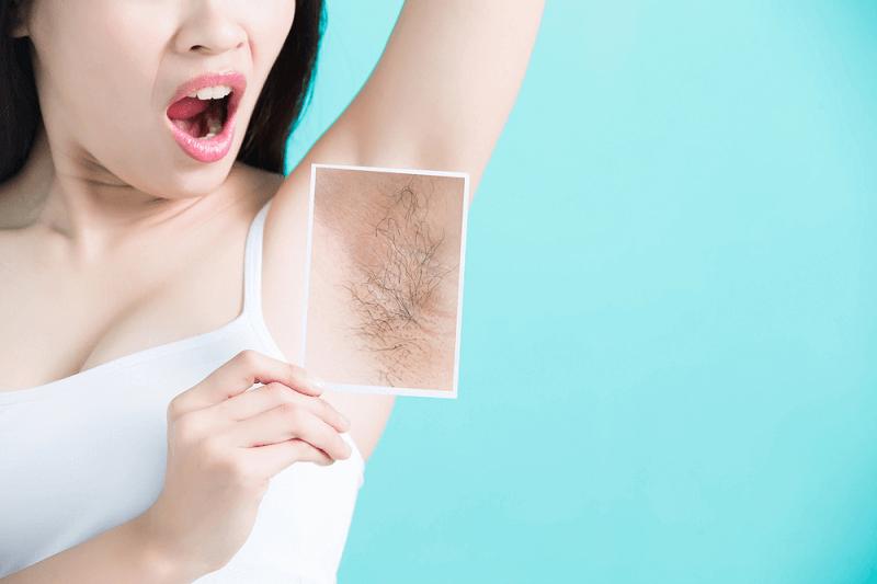 lông nách có tác dụng gì