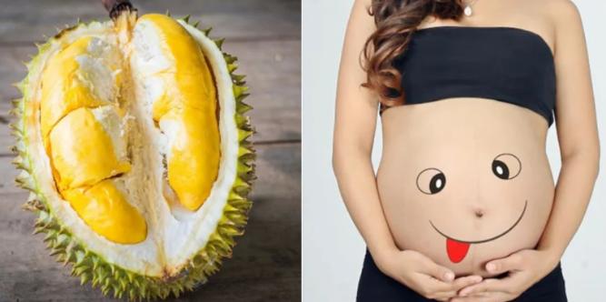 ăn sầu riêng khi mang thai