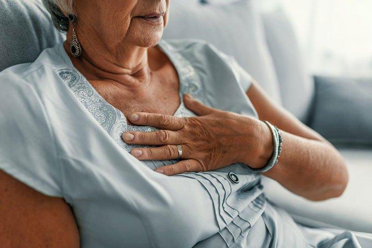 Điều trị tình trạng đau nhức xương khớp, khó thở kèm ho và đau ngực cho người cao tuổi?