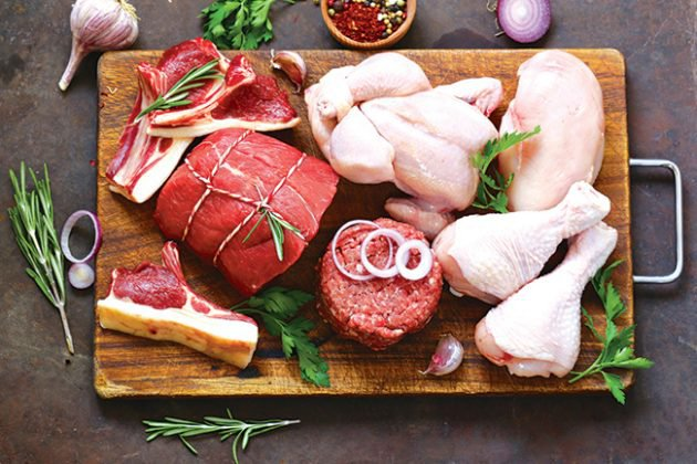 thịt đỏ và thịt trắng