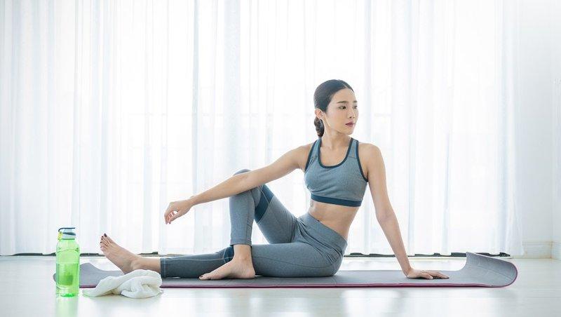 Mới tập yoga