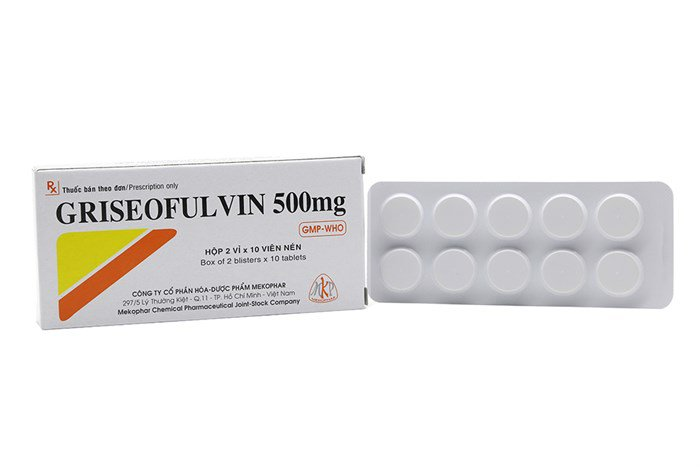 Thuốc Griseofulvin