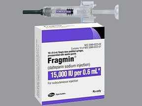 Thuốc Fragmin Subcutaneous