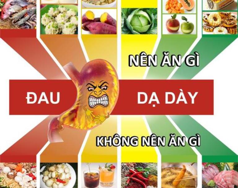 Chế độ ăn kiêng chữa bệnh dạ dày