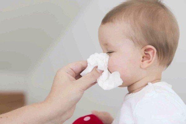 Trẻ chảy nước mũi