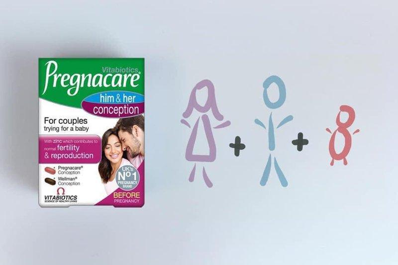 Uống chung thuốc Pregnacare Him & Her Conception và Collagen Shiseido dạng nước không?