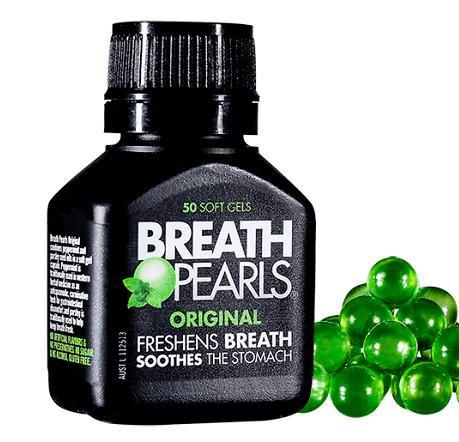 thuốc thơm miệng Breath Pearls