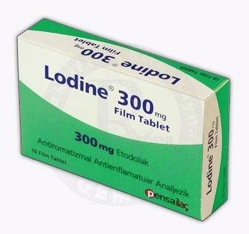 Thuốc Lodine