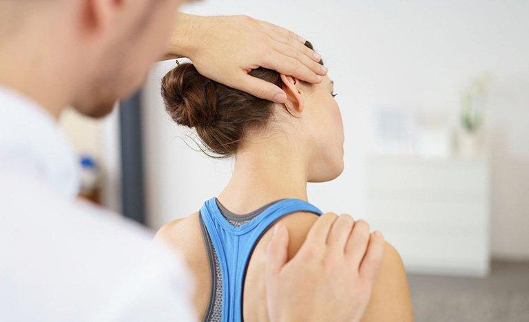 vật lý trị liệu đau cổ