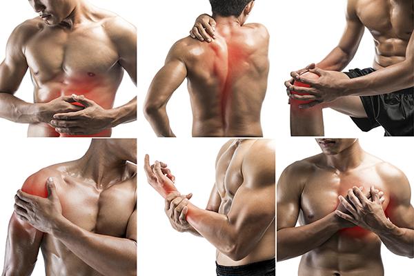 giảm đau cơ khi tập gym
