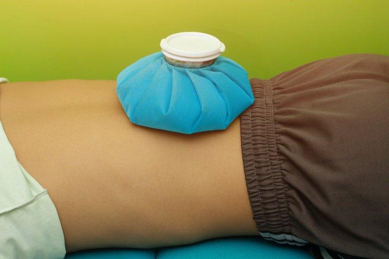 giảm đau cơ bụng