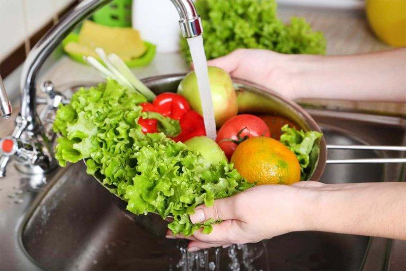Cách rửa rau